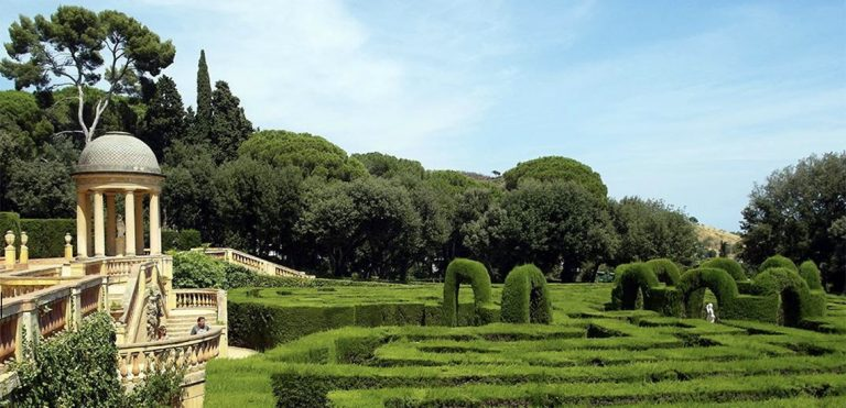 Labyrinth Park of Horta in barcelona hidden gem