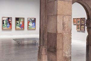 Interior of Museu Picasso